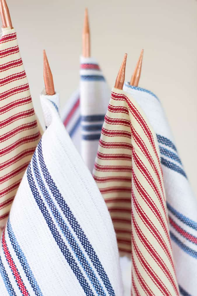 how to make flags with fabric scraps bundle of flags in red white and blue