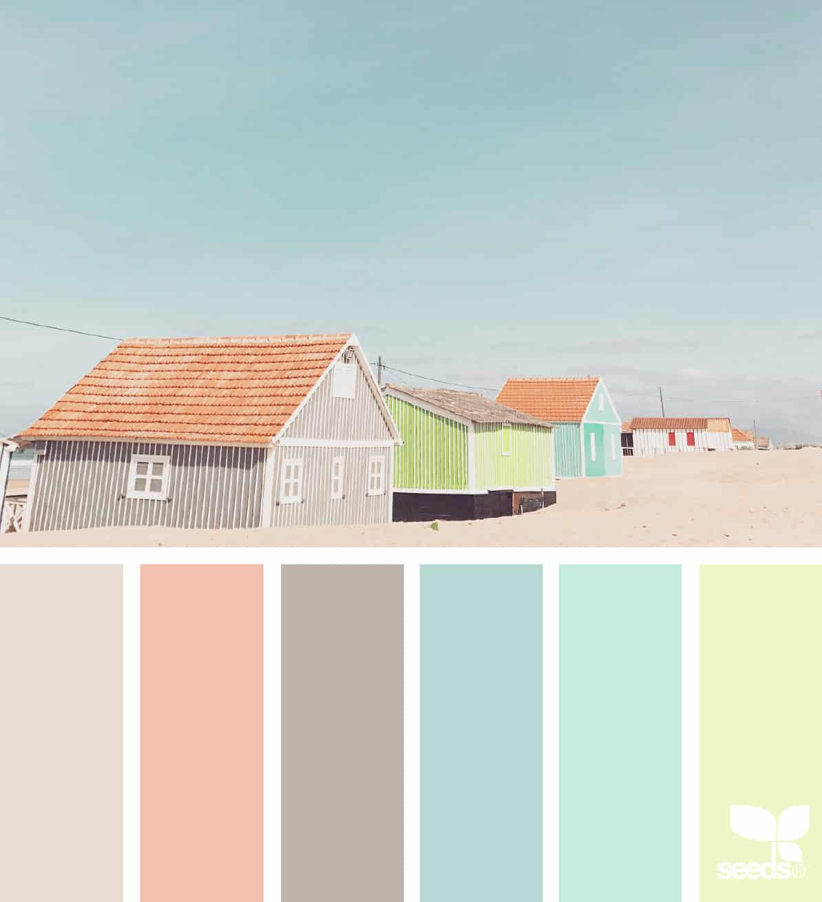 bathroom color schemes beach houses in many colors and palette