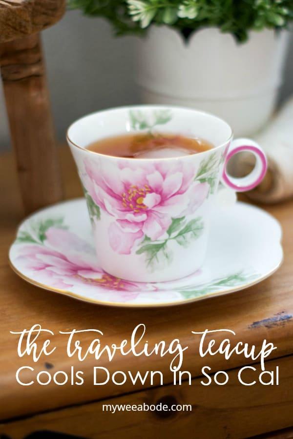 so cal traveling teacup with iced tea