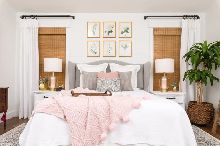 tuesday turn about july inspiration bedroom makeover in pink gray and white