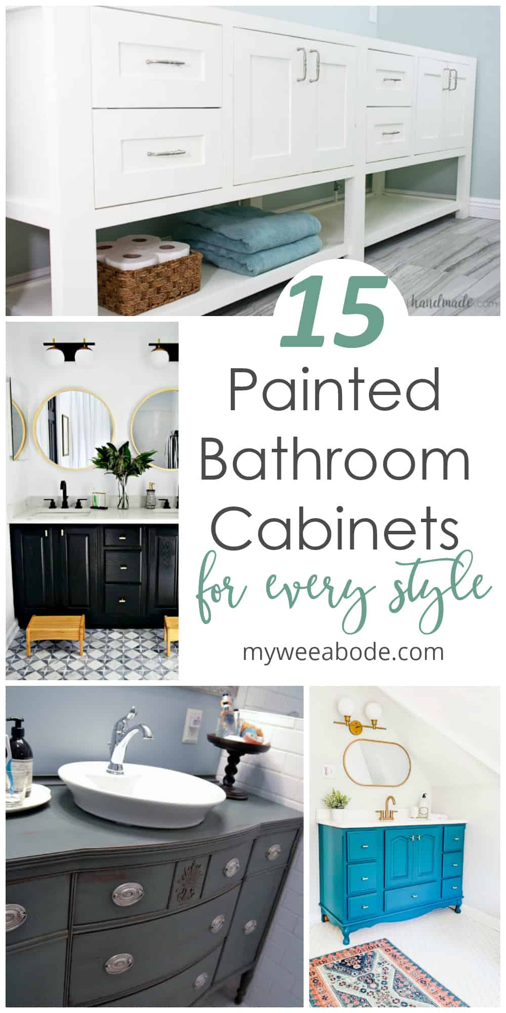 painted bathroom cabinets roundup variety of bathroom cabinets
