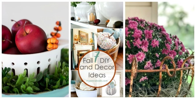 tuesday turn about tasty summer recipes collage of fall decor