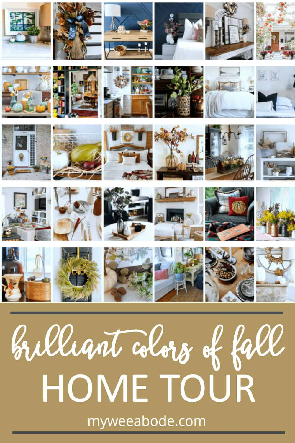apartment fall decor