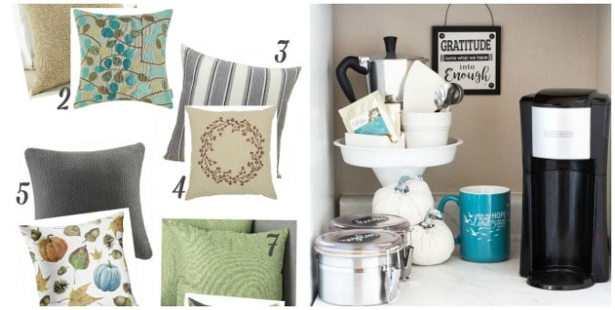 tuesday turn about 68 MWA collage with pillows and coffee station
