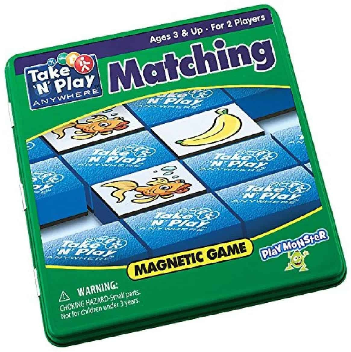 kids quiet toys matching game