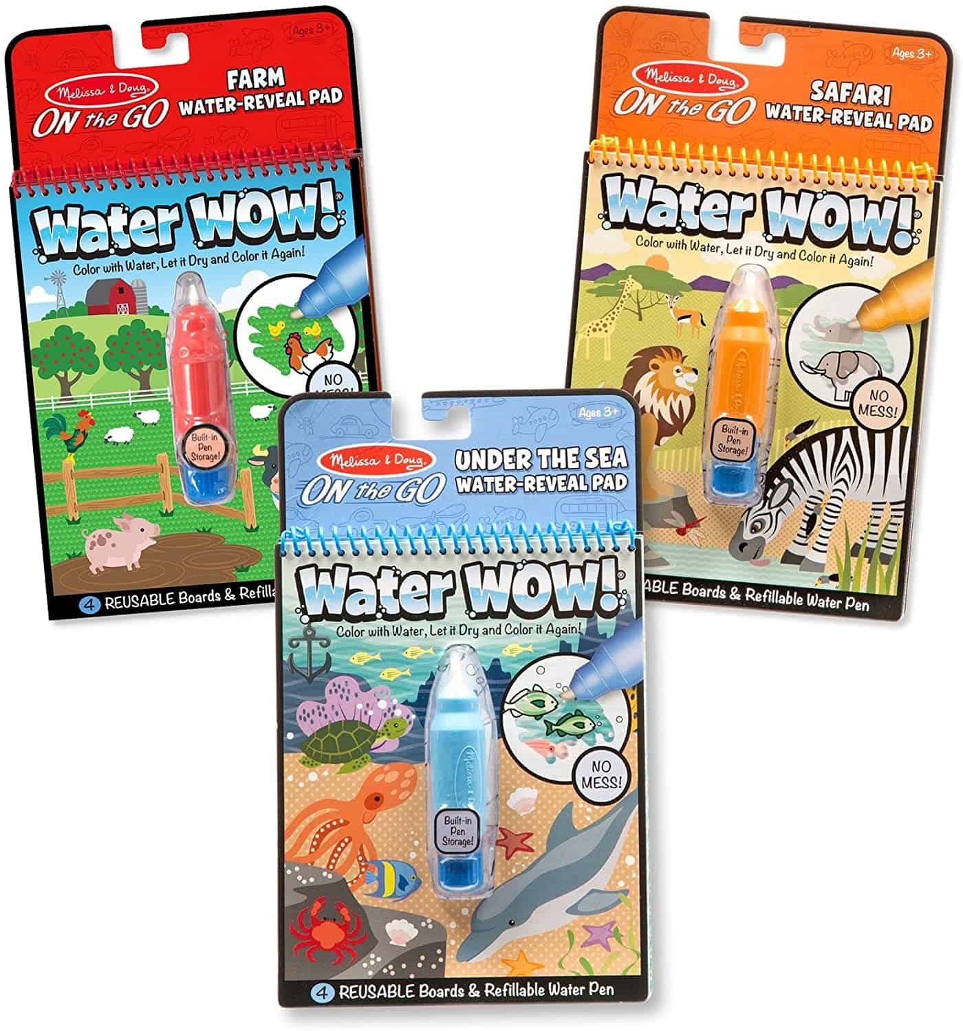 water coloring sets