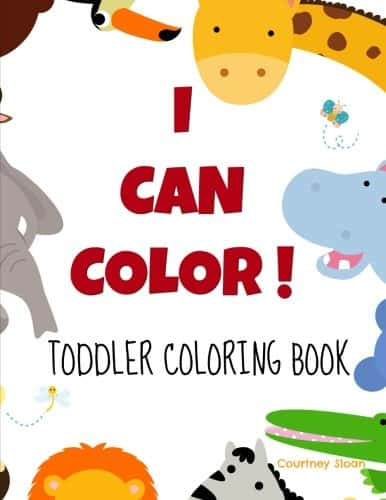 kids quiet toys toddler coloring book