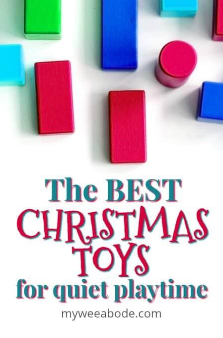 kids quiet toys blocks on white surface
