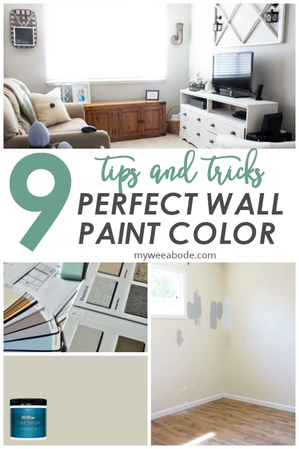 9 tips for choosing the perfect wall paint color