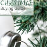 frosty mint christmas decor guide pine needles and white ornament