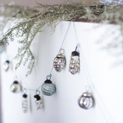 How to Make a Vintage-Look Mercury Ornament Garland