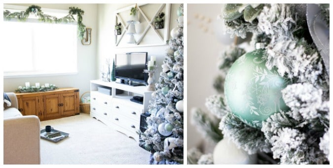 teusday turn about 78 christmas ideas collage of frosty christmas decor