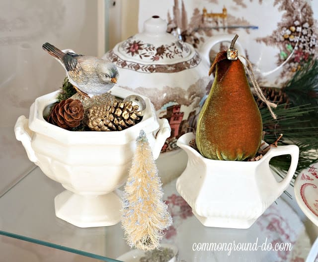tuesday turn about christmas kitchens cupboard with christmas decor
