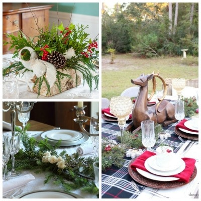 Tuesday Turn About #80 Christmas Tablescapes