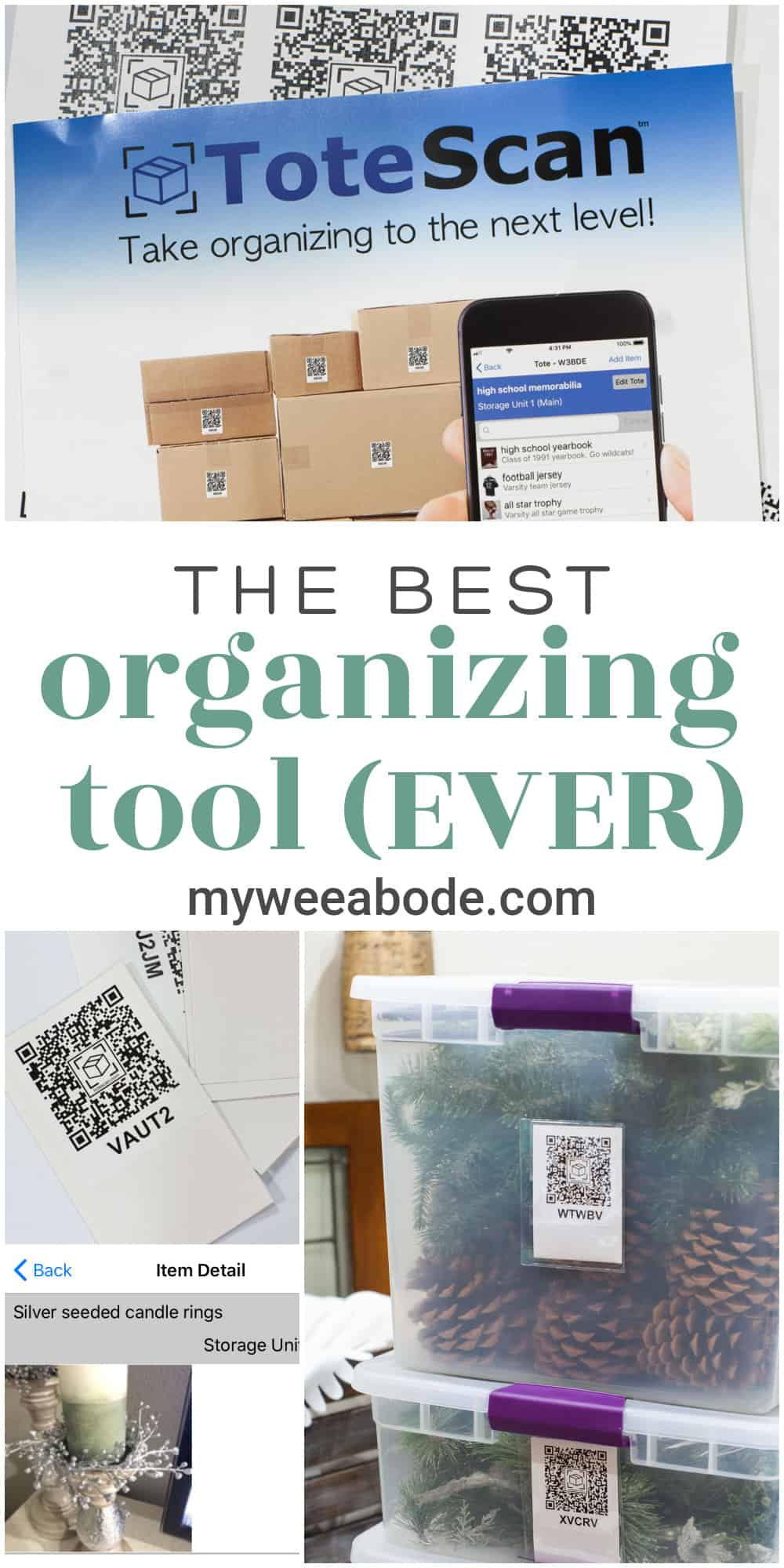 best organization tool ever collage of organizing images