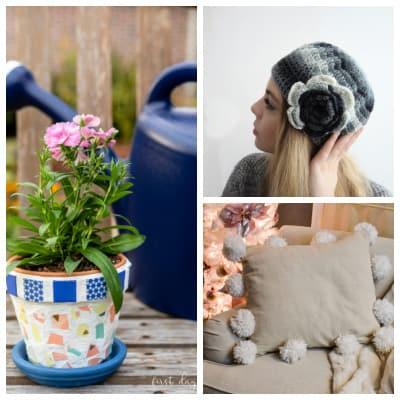 Tuesday Turn About #83 Winter DIY Projects