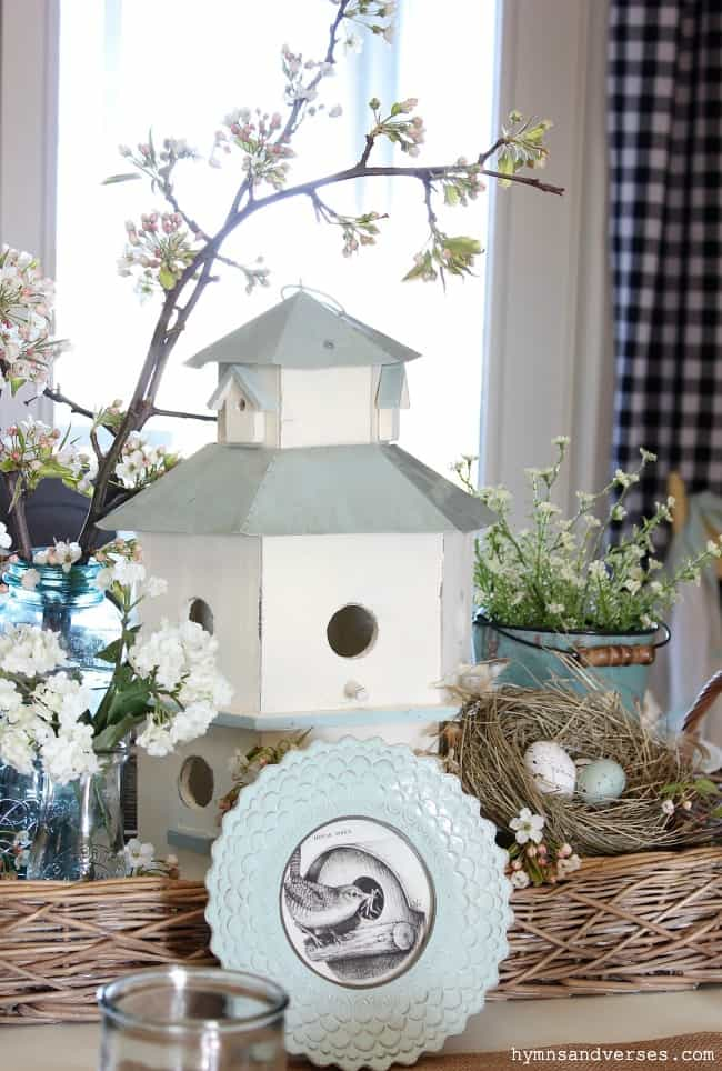 spring bird cage pinterest challenge bird house with spring elements