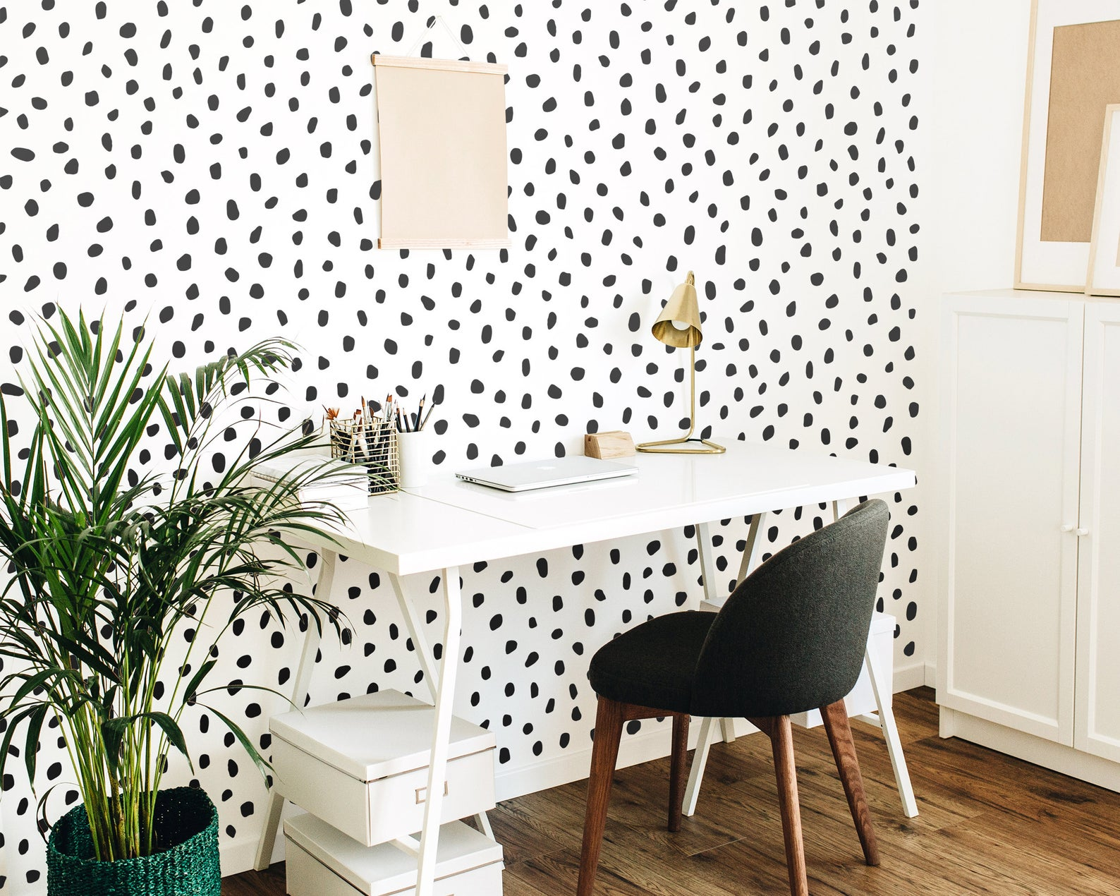 temporary wall coverings for your apartment office space with vinyl decal wallpaper
