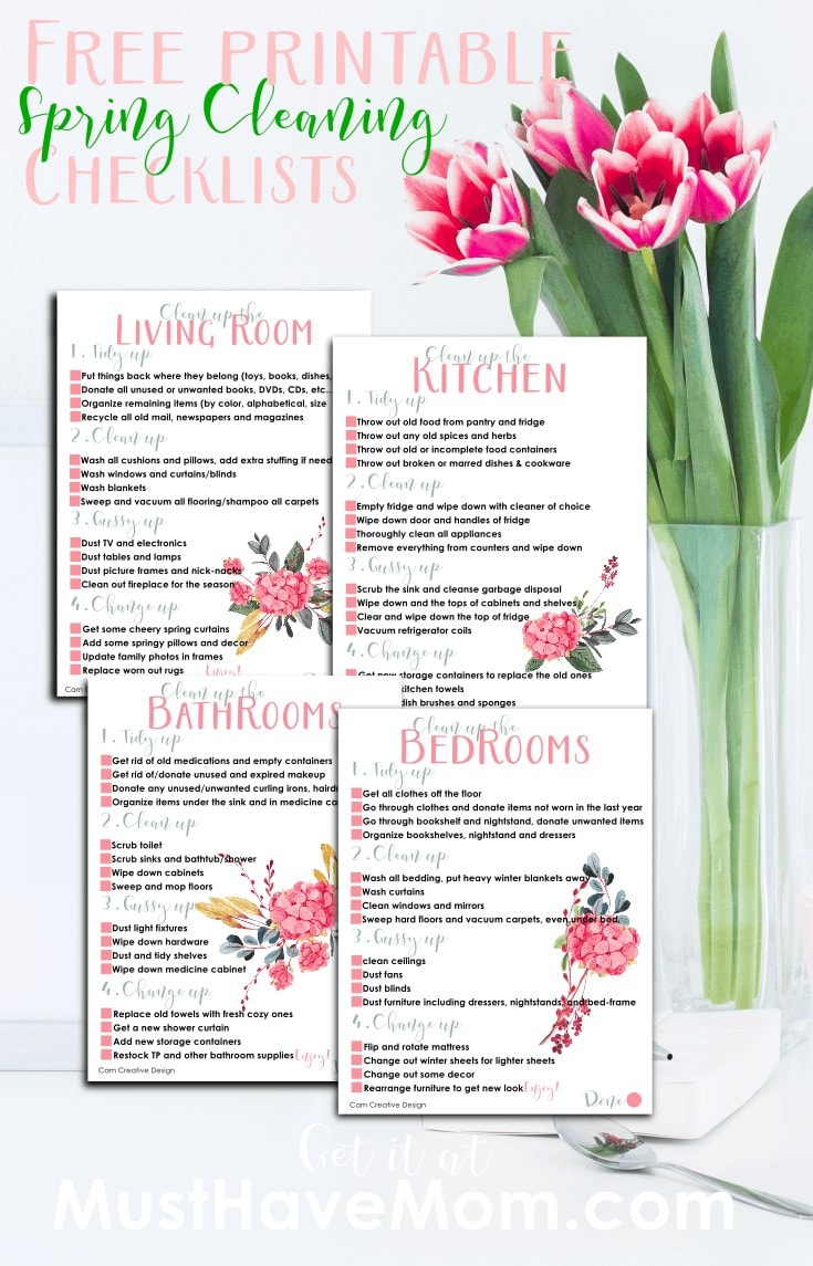 tuesday turn about 95 printable for spring cleaning with vase of tulips