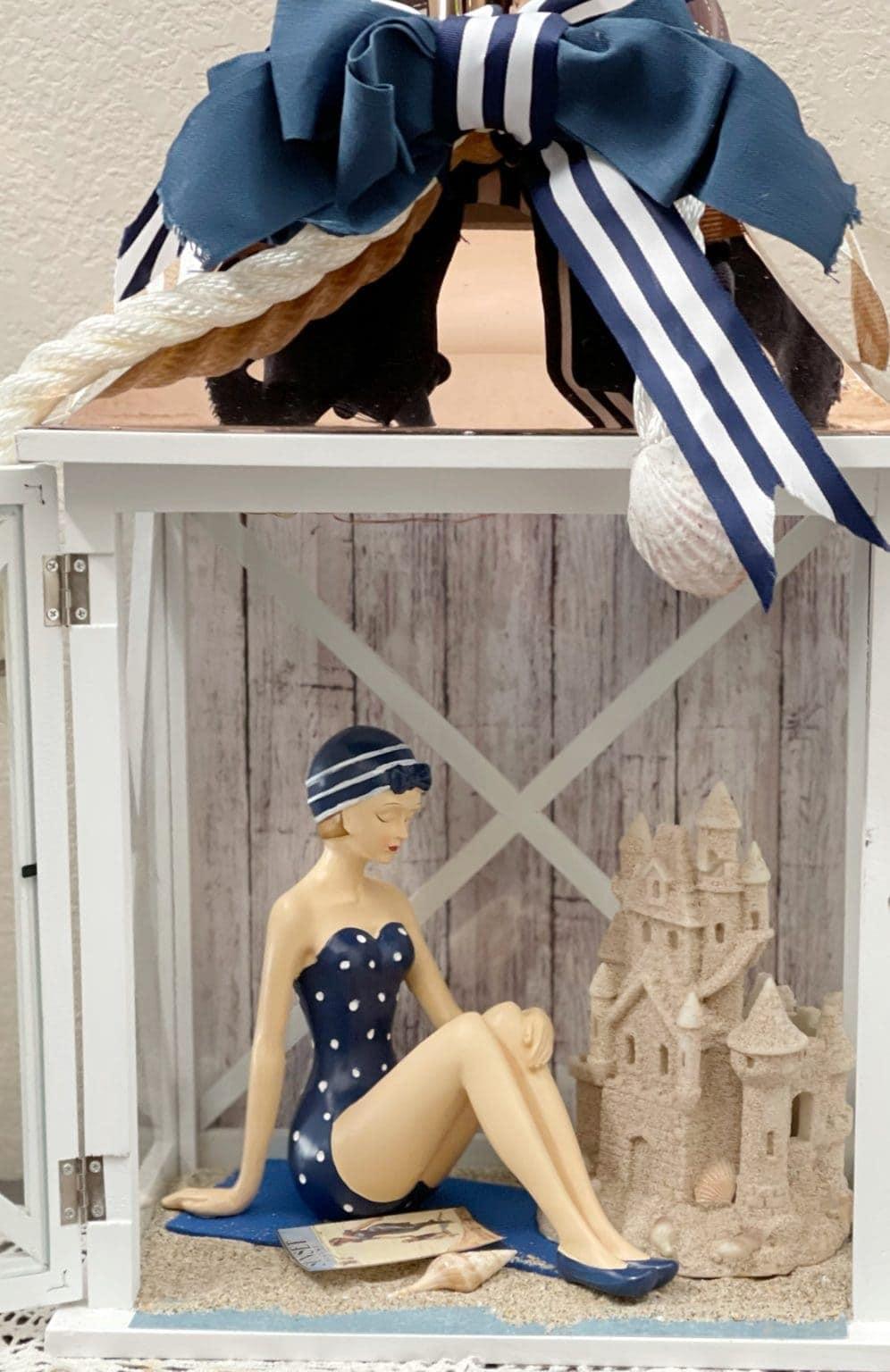 tuesday turn about summer fun diys beach scene in a lantern