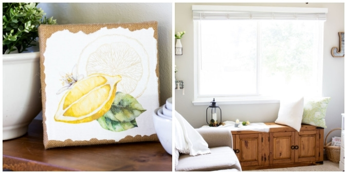 tuesday turn about 107 small living collage of summer canvas printable and living area with faux mantel