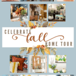 easy fall decor ideas tiny living room with touches of fall decor