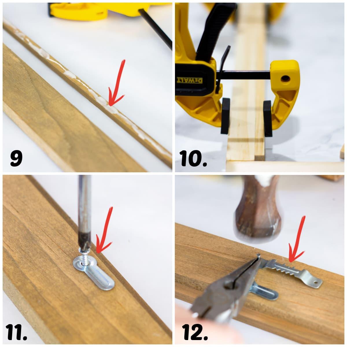 diy frame tutorial steps